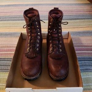 Chippewa Waterproof Steel Toe Size 10 Men's Boots